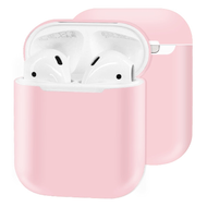 Ultra Thin Silicone Protective Case for Apple AirPods - Pink