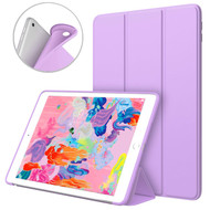 Smart Leather TPU Hybrid Case for iPad 9.7 (2018/2017) - Purple