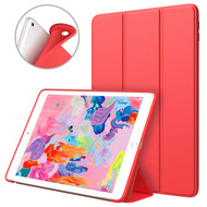 Smart Leather TPU Hybrid Case for iPad 9.7 (2018/2017) - Red
