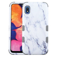 Military Grade Certified TUFF Hybrid Armor Case for Samsung Galaxy A10e - Marble White