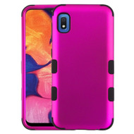 Military Grade Certified TUFF Hybrid Armor Case for Samsung Galaxy A10e - Hot Pink