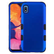 Military Grade Certified TUFF Hybrid Armor Case for Samsung Galaxy A10e - Blue