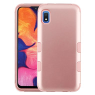 Military Grade Certified TUFF Hybrid Armor Case for Samsung Galaxy A10e - Rose Gold