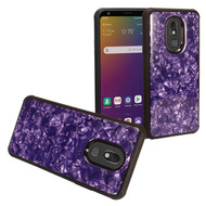 *Sale* Tough Anti-Shock Triple Layer Hybrid Case for LG Stylo 5 - Shell Purple