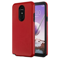 *Sale* Carbon Fiber Hybrid Case for LG Stylo 5 - Red
