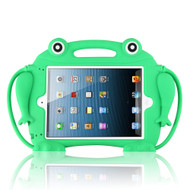 Frog Kids Friendly Drop Resistant Case with Handle & Stand for iPad (2018/2017) / iPad Pro 9.7 / iPad Air 2 - Green