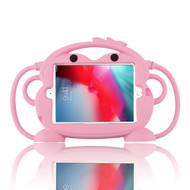 Monkey Kids Friendly Drop Resistant Case with Handle and Stand for iPad Mini - Pink