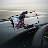 Car Dashboard Clip Cell Phone Holder - Black
