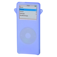 Silicone Skin Cover for 1st Generation iPod Nano - Blue