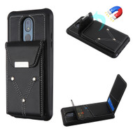 Cartera Wallet Case for LG Stylo 5 - Black