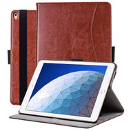 Slim Folding Smart Leather Folio Stand Case with Auto Wake / Sleep for iPad Air 3 / iPad Pro 10.5 inch - Brown