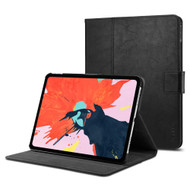 Spigen Stand Folio Leather Case for iPad Pro 12.9 inch (3rd Generation) - Black
