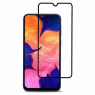 Premium Full Coverage 2.5D Tempered Glass Screen Protector for Samsung Galaxy A10e - Black