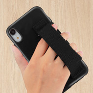 Fuse Slim Armor Hybrid Case with Integrated Hand Strap for iPhone XR - Black