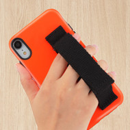Fuse Slim Armor Hybrid Case with Integrated Hand Strap for iPhone XR - Orange