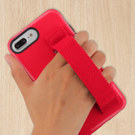 Fuse Slim Armor Hybrid Case with Integrated Hand Strap for iPhone 8 Plus / 7 Plus / 6S Plus / 6 Plus - Red