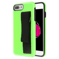 *Sale* Fuse Slim Armor Hybrid Case with Integrated Hand Strap for iPhone 8 Plus / 7 Plus / 6S Plus / 6 Plus - Green