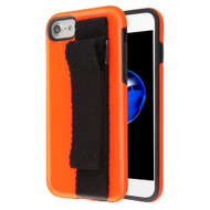 Fuse Slim Armor Hybrid Case with Integrated Hand Strap for iPhone 8 / 7 / 6S / 6 - Orange