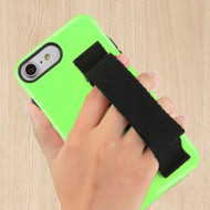 Fuse Slim Armor Hybrid Case with Integrated Hand Strap for iPhone 8 / 7 / 6S / 6 - Green