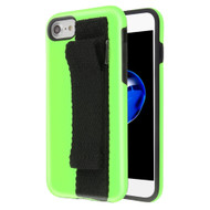 *Sale* Fuse Slim Armor Hybrid Case with Integrated Hand Strap for iPhone 8 / 7 / 6S / 6 - Green