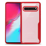 Vista Ultra Hybrid Shock Absorbent Crystal Case for Samsung Galaxy S10 5G - Red