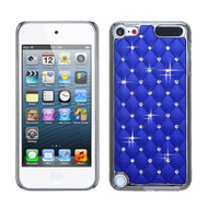 Luxurious Chrome Spot Diamond Case for iPod Touch (5th, 6th and 7th Generation) - Blue
