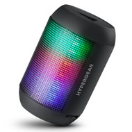 HyperGear RaveMini Bluetooth Wireless LED Speaker - Black