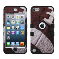 Military Grade Certified TUFF Hybrid Armor Case for iPod Touch (5th, 6th and 7th Generation) - Football