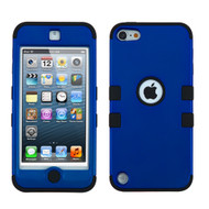 Military Grade Certified TUFF Hybrid Armor Case for iPod Touch (5th, 6th and 7th Generation) - Blue