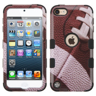 Military Grade Certified TUFF Hybrid Armor Case for iPod Touch (5th, 6th and 7th Generation) - Football 011
