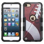 Military Grade Certified TUFF Hybrid Armor Case for iPod Touch (5th, 6th and 7th Generation) - Football 004