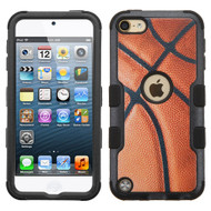 Military Grade Certified TUFF Hybrid Armor Case for iPod Touch (5th, 6th and 7th Generation) - Basketball 005