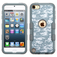 Military Grade Certified TUFF Hybrid Armor Case for iPod Touch (5th, 6th and 7th Generation) - Digital Camouflage