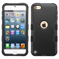 Military Grade Certified TUFF Hybrid Armor Case for iPod Touch (5th, 6th and 7th Generation) - Black 251