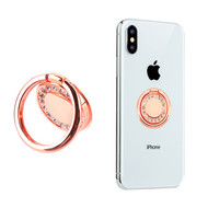 Diamante Smart Loop Universal Smartphone Holder & Stand - Rose Gold