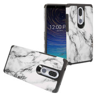 Hybrid Multi-Layer Armor Case for Coolpad Legacy - Marble White