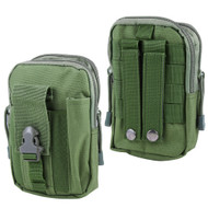 Tactical MOLLE Cell Phone Pouch - Green