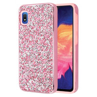 Desire Mosaic Crystal Hybrid Case for Samsung Galaxy A10e - Pink