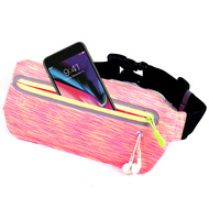 Super Slim Fanny Waist Pack Pocket Belt - Hot Pink