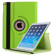 *FINAL SALE* 360 Degree Smart Rotating Leather Case for iPad 9.7 (2018/2017) - Green