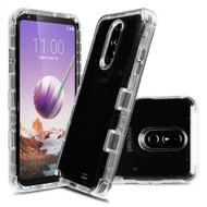 *Sale* Military Grade Certified TUFF Lucid Transparent Hybrid Armor Case for LG Stylo 5 - Clear