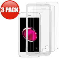 3-Pack HD Premium Tempered Glass Screen Protector with Installation Frame for iPhone 8 Plus / 7 Plus / 6S Plus / 6 Plus