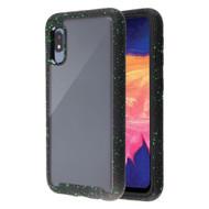 Tough Fusion-X 2-Piece Hybrid Armor Case for Samsung Galaxy A10e - Splash Black