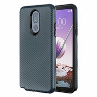 Carbon Fiber Hybrid Case for LG Stylo 5 - Slate Blue