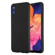 Liquid Silicone Protective Case for Samsung Galaxy A10e - Black