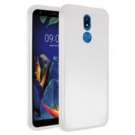 Frost Semi Transparent Hybrid Case for LG K40 - White