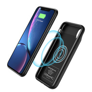 Smart Qi Wireless Power Bank Battery Charger Case 3500mAh for iPhone XS / X - Black