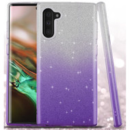 *Sale* Full Glitter Hybrid Protective Case for Samsung Galaxy Note 10 - Gradient Purple