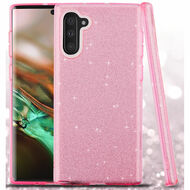 Full Glitter Hybrid Protective Case for Samsung Galaxy Note 10 - Pink