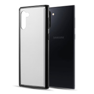 Polymer Transparent Hybrid Case for Samsung Galaxy Note 10 - Black